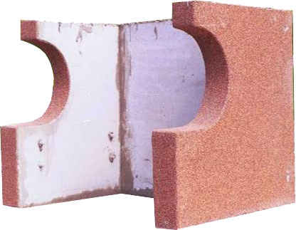 Изделия из пенопласта - литье бетонных изделий в форме из пенопласта
