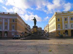 лучшие фото Одессы - памятник Дюк Ришелье 2