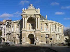 лучшие фото Одессы - Оперный театр 2